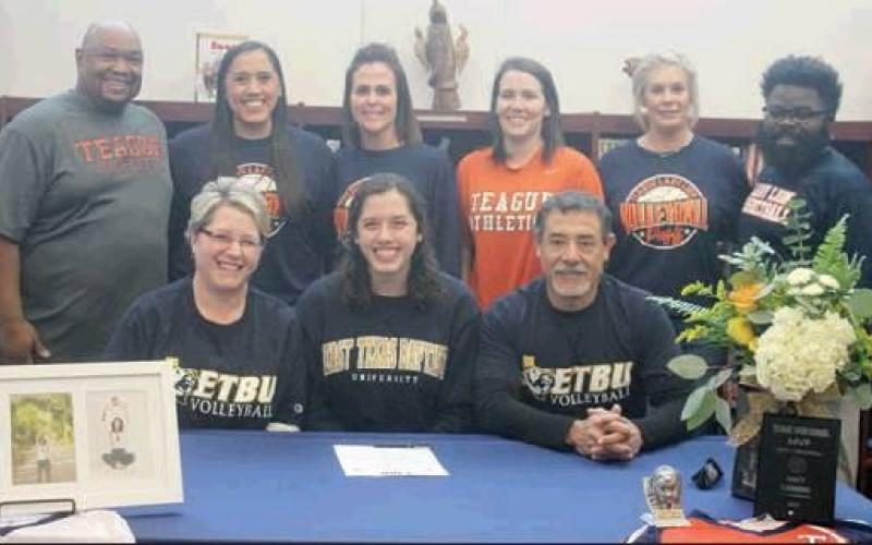 Guerrero signs to play volleyball at East Texas Baptist