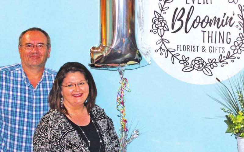 Every Bloomin' Thing celebrates first year in Teague