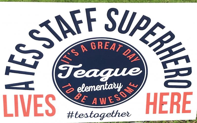 Supporting our local TES Superheroes