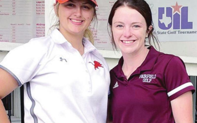 Freestone County duo finish high school careers at state golf tourney