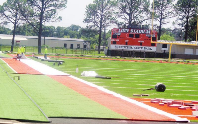 Lion Stadium undergoes renovations