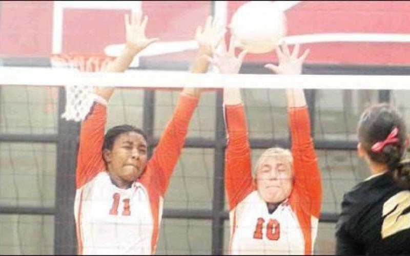 Rogers ousts Teague from volleyball playoffs