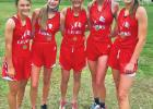 Nine runners medal in cross-country meet