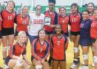 Lady Lions sweep Mexia in three sets, take second at Kerens tourney